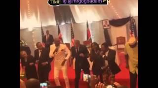 president obama dancing sura yako with sauti soul