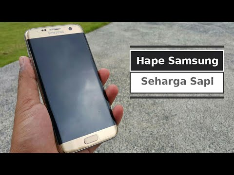 Review samsung GALAXY S7 EDGE indonesiasamsung is the best