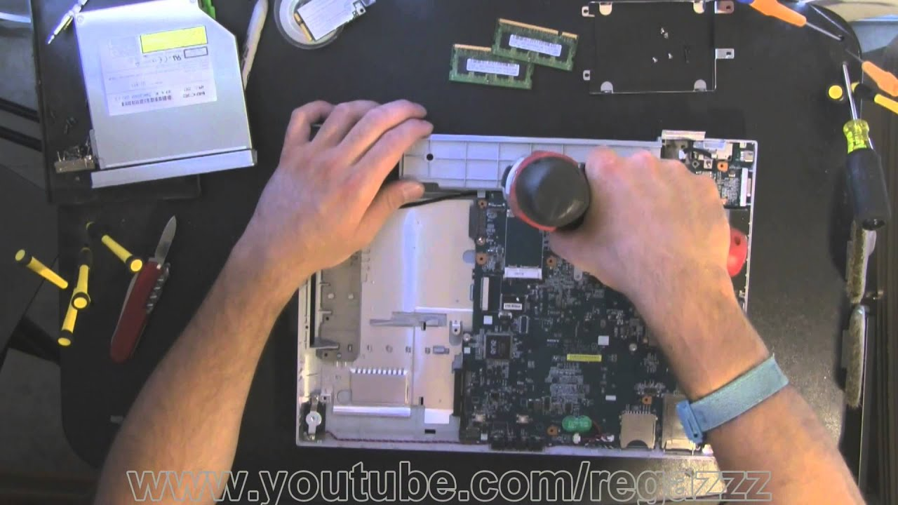 how to take apart my sony vaio laptop