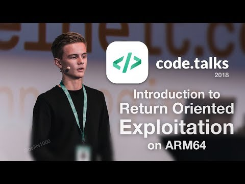 Introduction to Exploitation on ARM64 | My talk at Codetalks 2018