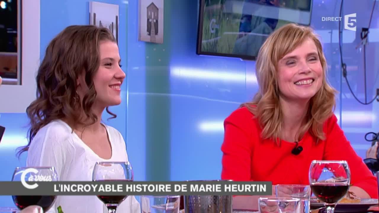 """Isabelle Carré et Ariana Rivoire sur """"Marie Heurtin"""" - C à ..."""