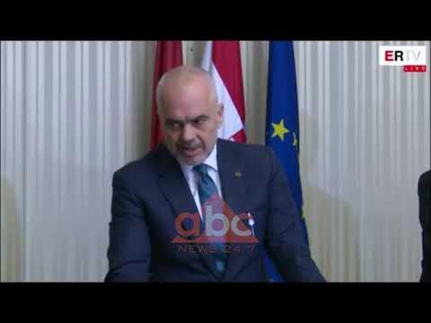 Rama ne Zagreb: Taksa 100% e Kosoves, klithme reagimi politik | Abc News Albania