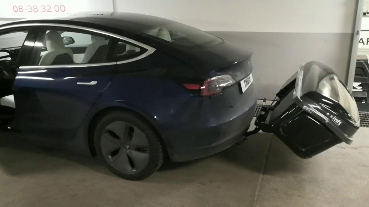 Nyhet! MFT Lastbox för Tesla 3