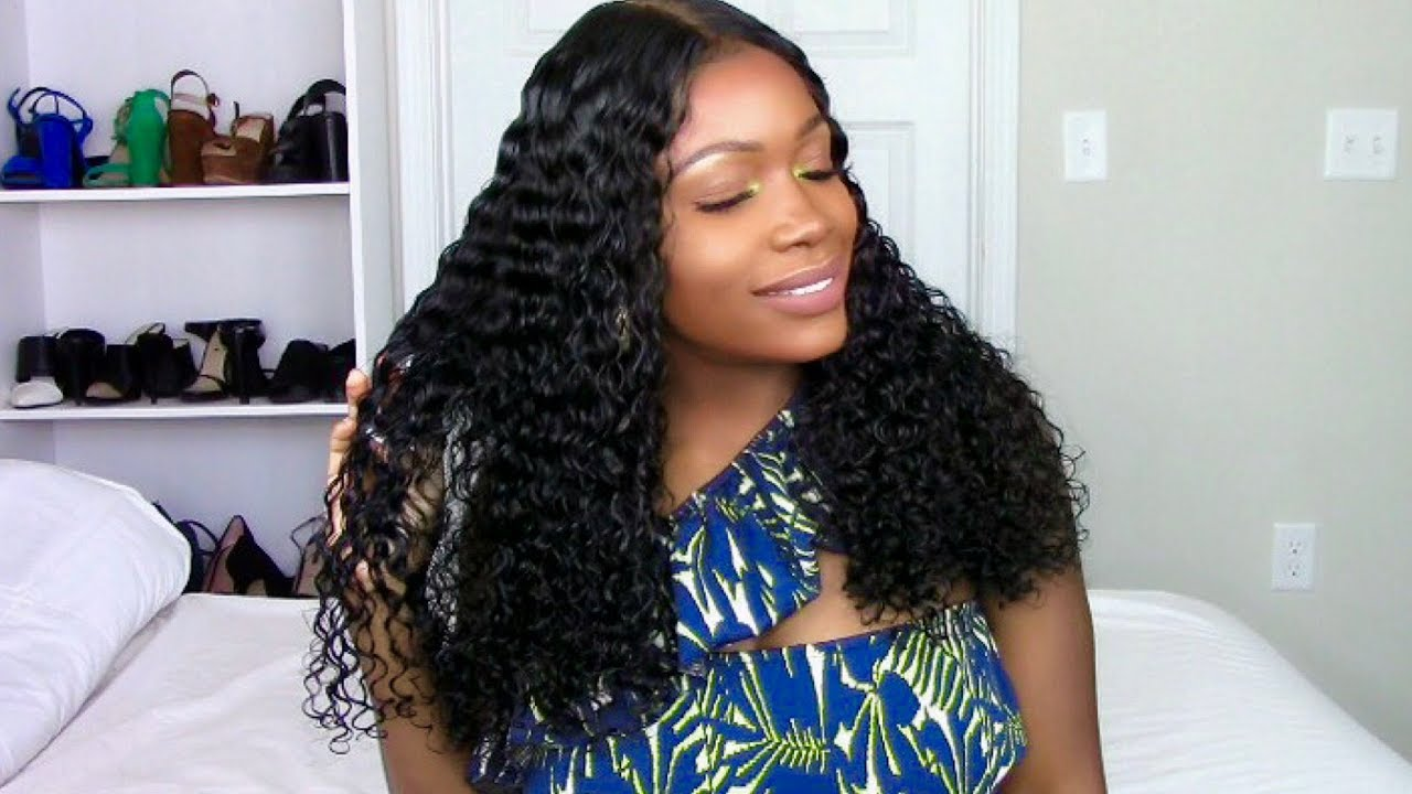 Beauty Forever Malaysian Curly Hair Routine Update
