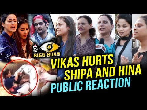 Vikas Gupta GETS PHYSICAL With Shilpa And Hina | PUBLIC REACTION | Bigg Boss 11
