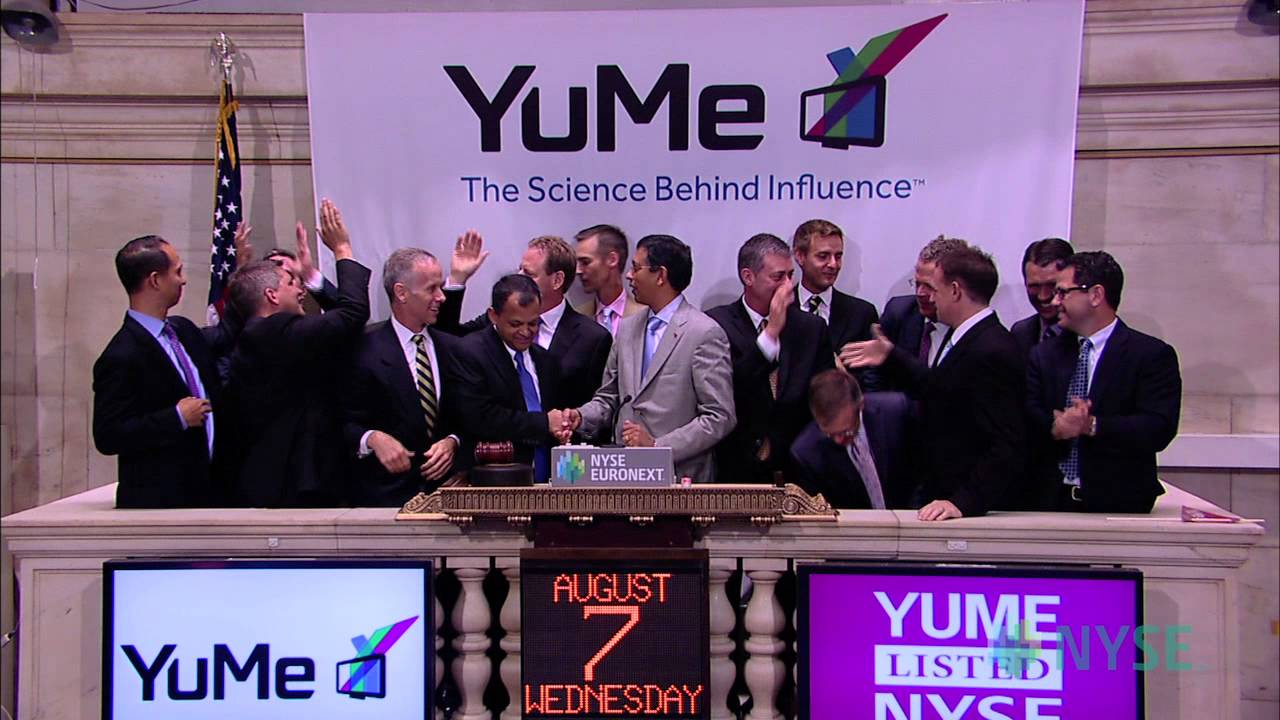 Yume celebrates ipo on the nyse youtube yume celebrates ipo on the nyse buycottarizona