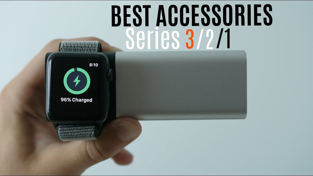 Top 5 Apple Watch Series 3 Accessories!