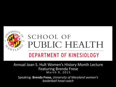 Joan S. Hult Women's History Month Lecture: Brenda Frese