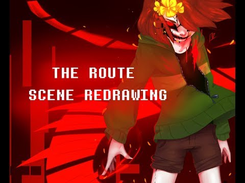 Chara's Return- The Route Undertale Animation [Scene Redrawing]