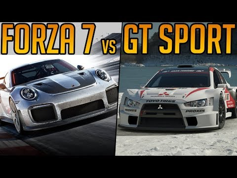 Forza Motorsport 7 or Gran Turismo Sport? Which is better?