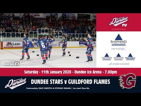 11/01/2020 - Dundee Stars V Guildford Flames