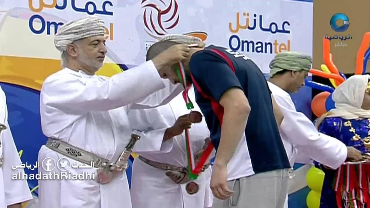 تكريم نادي السيب الحاصل على المركز الثالث في بطولة درع وزارة الشؤون الرياضية للكرة الطائرة