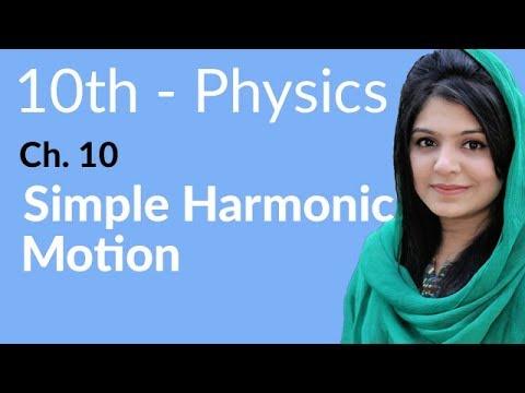 10th Class Physics, Ch 10, Simple Harmonic Motion - Class 10th Physics thumbnail