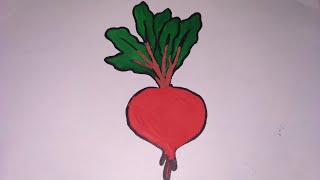 How to draw vegetables for kids kids colouring pages