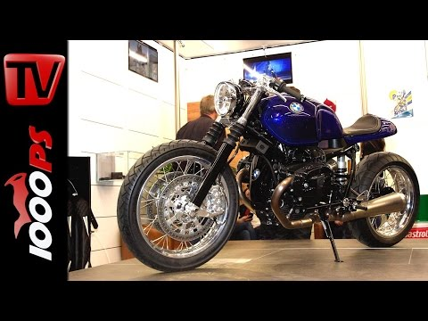 BMW R nine T Café Racer Stockholm Syndrom @ Custombike Show 2014
