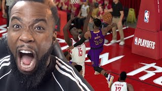 I Dunked on Him! Lakers vs Rockets Playoff Game 1! NBA 2K19 MyCareer Ep 61
