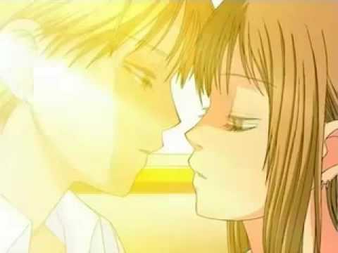 Kippei and Kokoro kiss