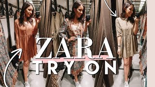 ZARA TRY ON PRE-FALL 2018 | Come Shopping With Me To ZARA & RIVER ISLAND