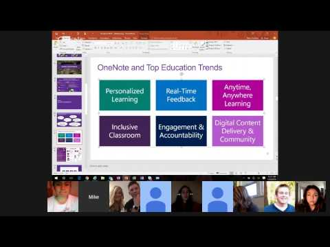 ONLINE WORKSHOP: Microsoft in Education: OneNote and Sway