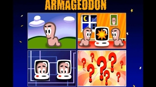 Worms Armageddon gameplay (PC Game, 1999)