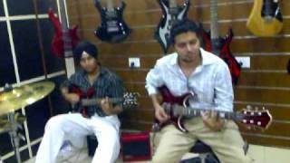 Jamming At Yamaha Music Square Chandigarh