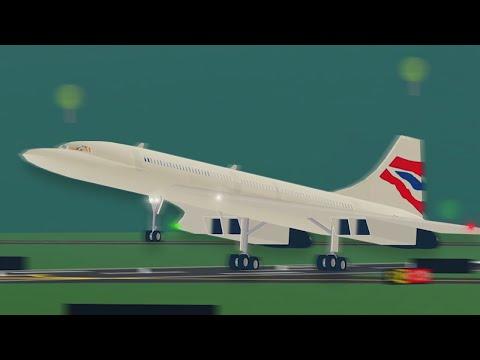 Cocorde British-airways Take-off
