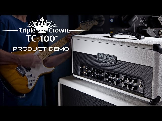 MESA/Boogie Triple Crown TC100 Demo