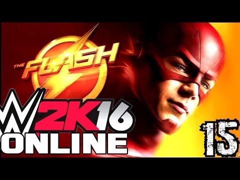 WWE 2K16 Online Türkçe | FLASH coook hizli | Ümidi vs World | 15.Bölüm | Ps 4