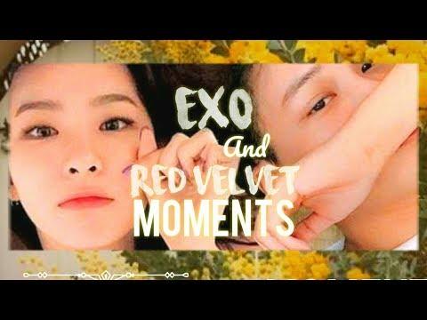 EXO AND RED VELVET MOMENTS