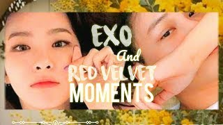 EXO AND RED VELVET MOMENTS MP3