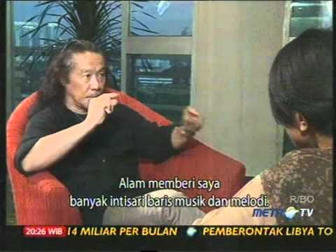 Kitaro - Interview by METRO TV (Jakarta, Indonesia - 2011)