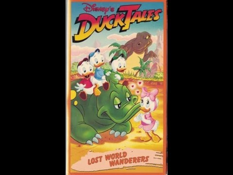 Opening & Closing To Ducktales:Lost World Wanderers 1989 VHS