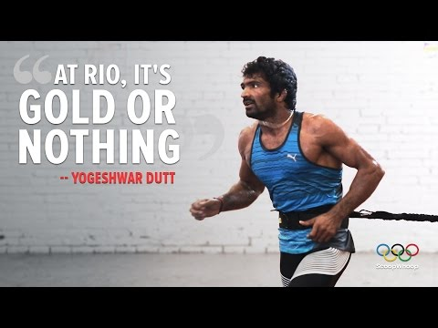 Exclusive: Yogeshwar Dutt is determined to win gold at Rio 2016