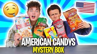 Wir testen eine AMERICAN CANDY MysteryBox 🍭🍿 mit Smiley