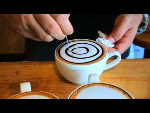 วาดลาเต้อาร์ตง่ายๆให้กาแฟถ้วยโปรด.. กับอาจารย์เก๋คัฟฟ่า