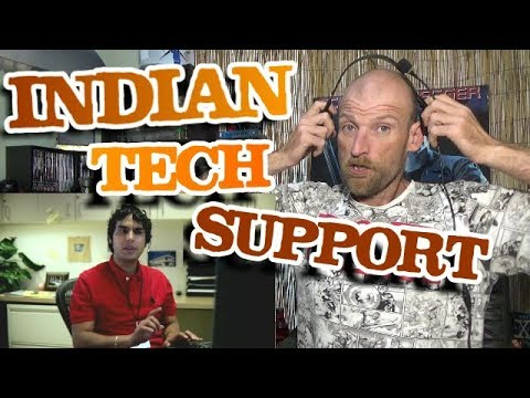 INDIAN TECH SUPPORT - Reaction