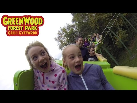 Greenwood Forest Park 2016 with Grace & Jess