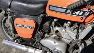 Обзор мотоцикла Иж Юпитер 5 ПЕРЕХОДНОЙ (водянка)