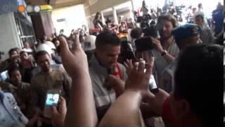 Video kedatangan Tim Belanda di Bandara Halim Perdana Kusuma