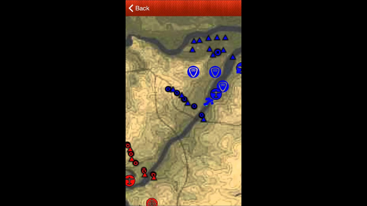 War Thunder Tactical Map for iOS - YouTube