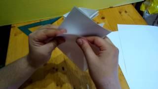 Бумажные кораблики Новый способ создания с правильной развесовкой!