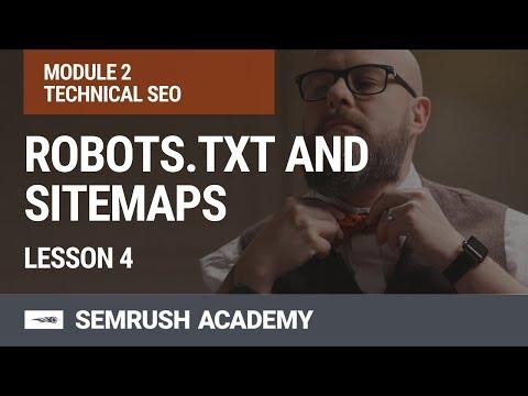 Module 2. Lesson 4. Robots.txt And Sitemaps