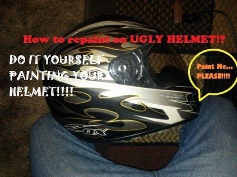 How to repaint your motorcycle helmet step by step diy youtube how to repaint your motorcycle helmet step by step diy solutioingenieria Gallery