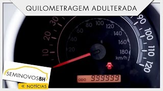 Como identificar quilometragem adulterada | SeminovosBH #27