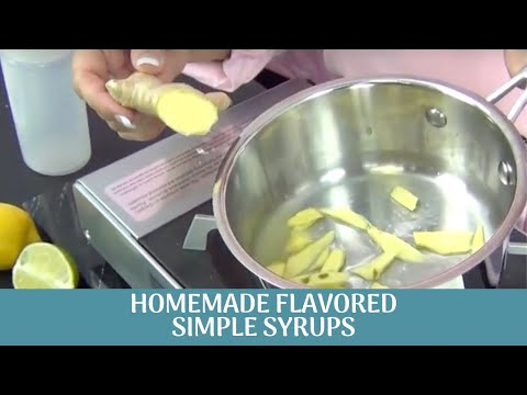Flavored Simple Syrup by www.SweetWise.com