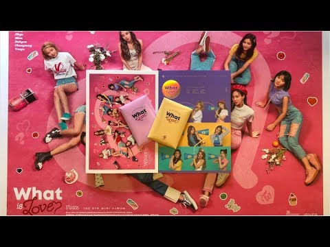 Twice 'What Is Love?' 5th Mini Album Unboxing [A Ver. + B Ver.]