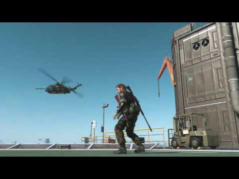 MGS V - free roam DD busywork: touring Mother Base and then patrolling Angola-Zaire