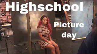 HIGHSCHOOL VLOG: picture day perfect