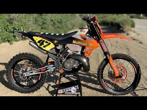 2019 KTM 250SX 2 Stroke Off Road Project Build - Dirt Bike Magazine