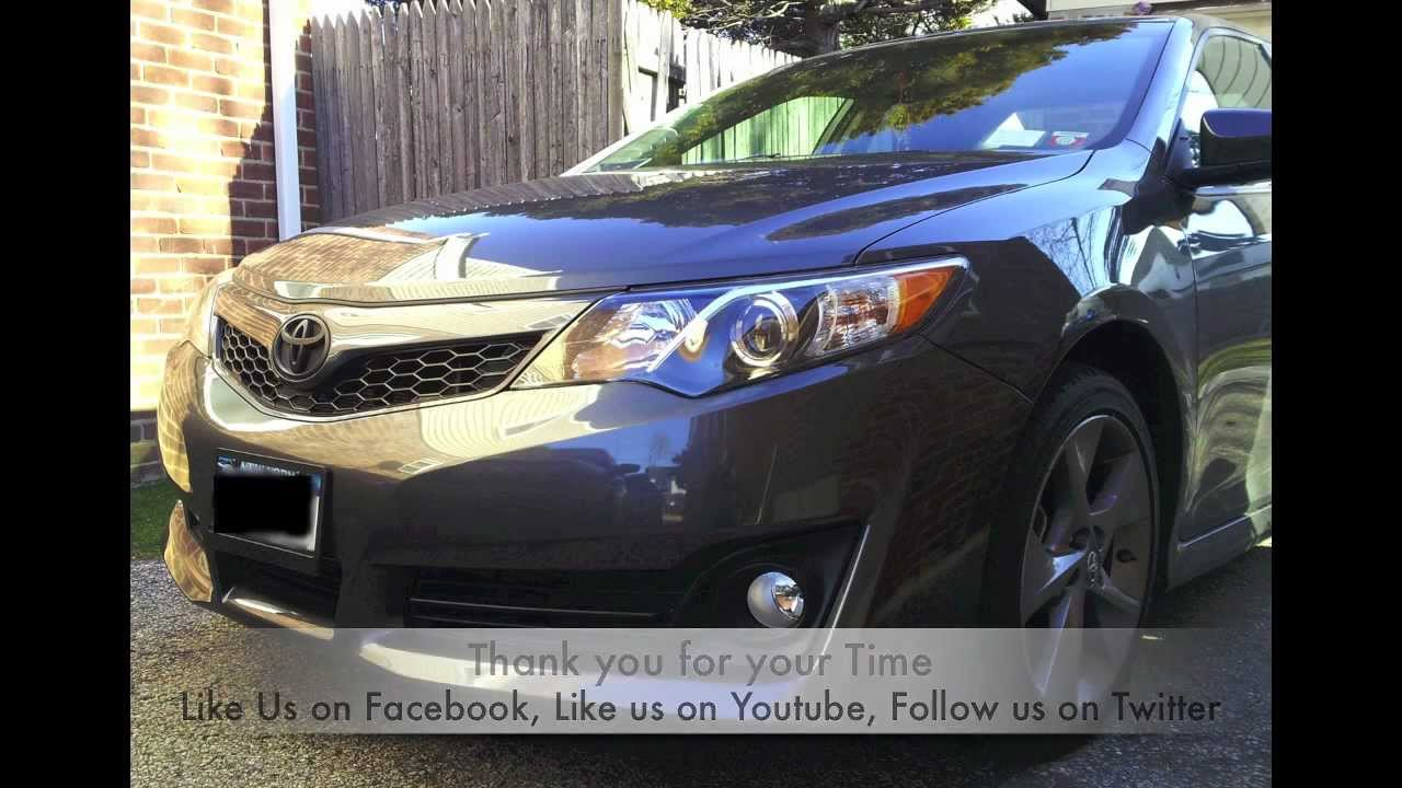 2012 Camry Black Out Youtube